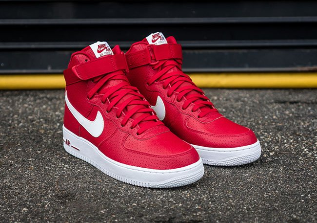 wholesale dealer a3d9f c9281 Nike Air Force 1 High Perf Gym Red