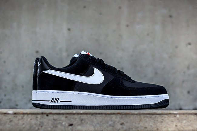 hot sale online f4e22 76f80 Nike Air Force 1 Low Suede Mesh Black Obsidian White ...