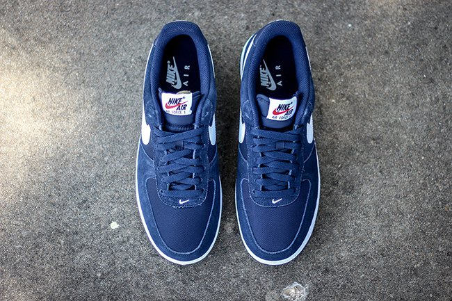Nike Air Force 1 Low Suede Mesh Obsidian Blue White