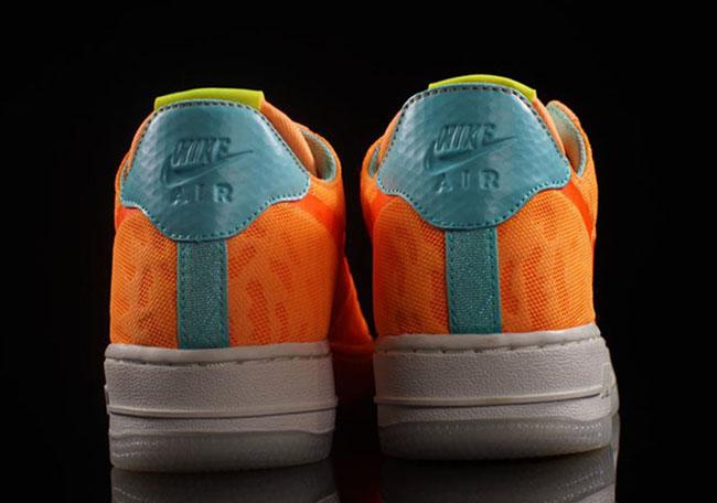 Nike Air Force 1 Low TXT Orange Mesh