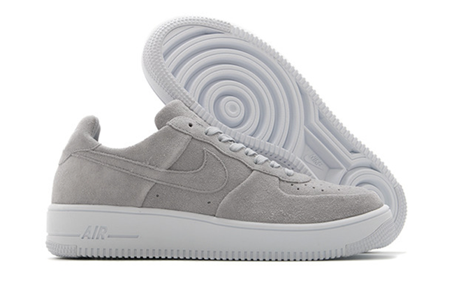 Air Force 1 Grey Suede  56152d6375