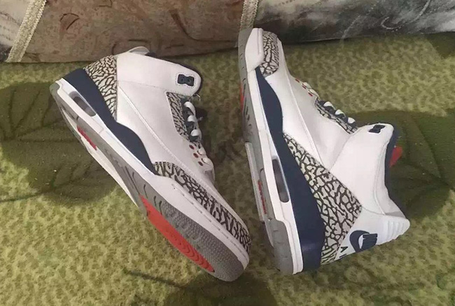 Nike Air Jordan 3 True Blue 2016