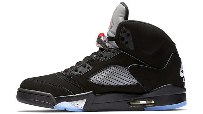 Nike Air Jordan 5 OG Black Metallic Retro
