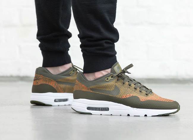 the best attitude 93507 00830 Nike Air Max 1 Ultra Flyknit Cargo Khaki