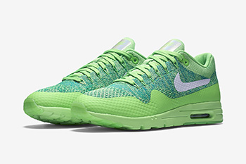 Nike Air Max 1 Ultra Flyknit Green