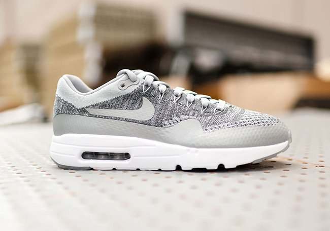 Nike Air Max 1 Ultra Flyknit Wolf Grey