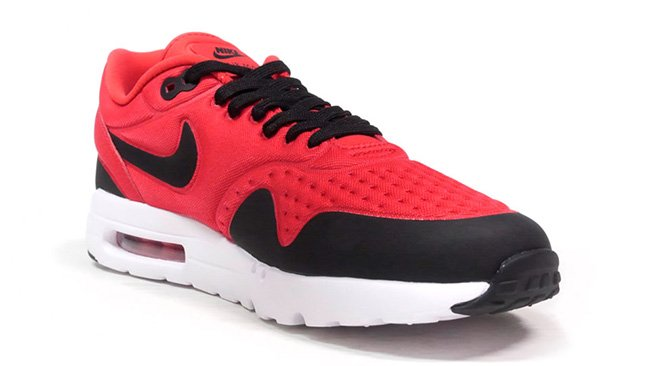 Nike Air Max 1 Ultra SE Sneakers Action Red Black White
