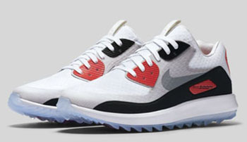Nike Air Max 90 IT Infrared Golf Shoe