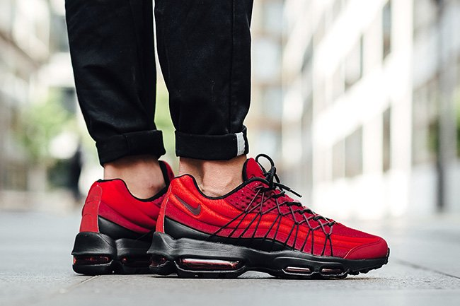 super specials wholesale price official photos Nike Air Max 95 Ultra SE Gym Red | SneakerFiles