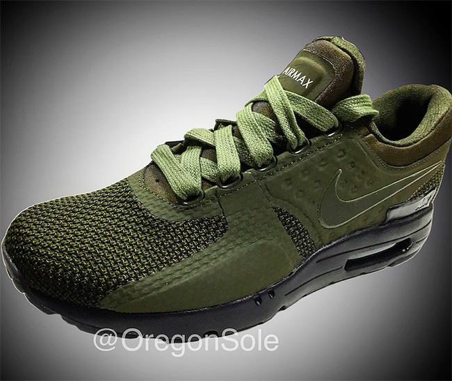 Nike Air Max Zero Olive 2017