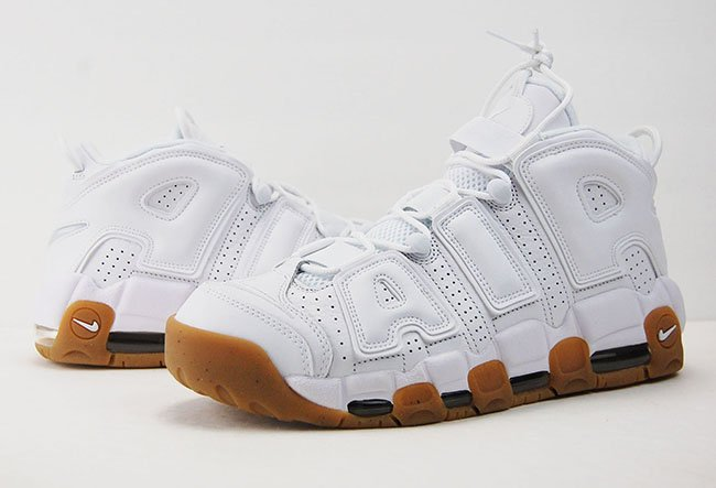 Nike Air More Uptempo White Gum Review