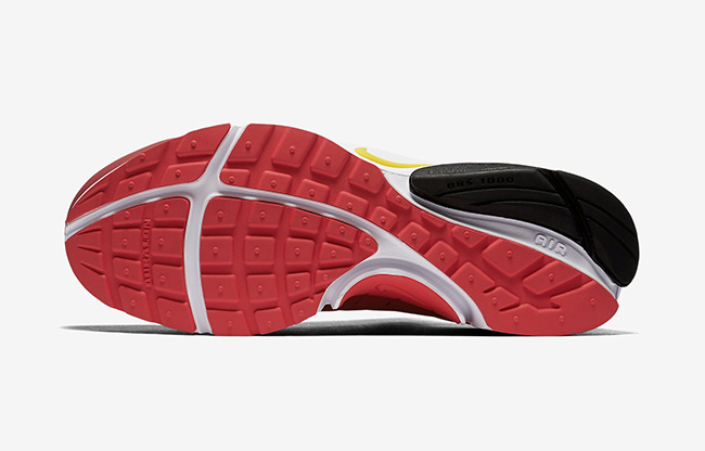 Nike Air Presto Bred Black Red Yellow
