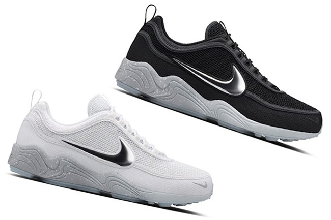 Nike Air Zoom Spiridon Black White Reflective Pack
