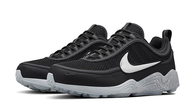 Nike Air Zoom Spiridon Black White Reflective