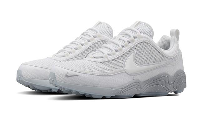 Nike Air Zoom Spiridon White Wolf Grey Reflective
