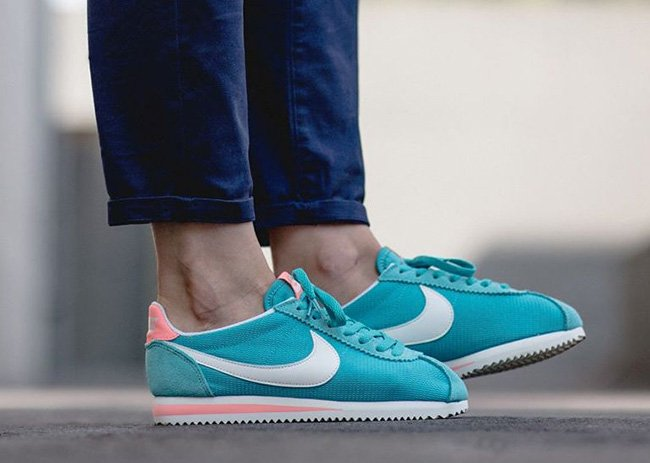 Nike Classic Cortez TXT Washed Teal