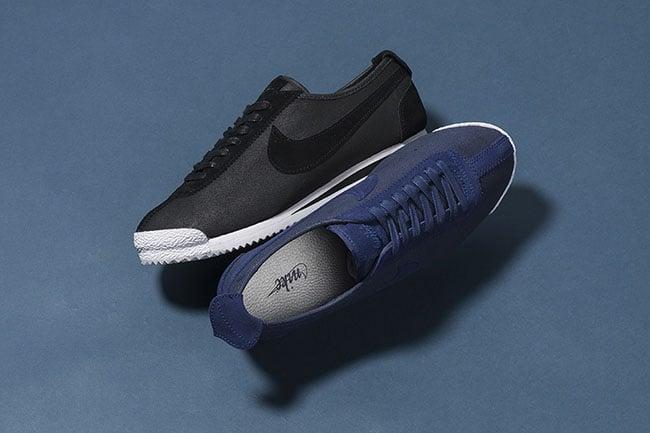 nike cortez 72 og blue black sneakerfiles. Black Bedroom Furniture Sets. Home Design Ideas