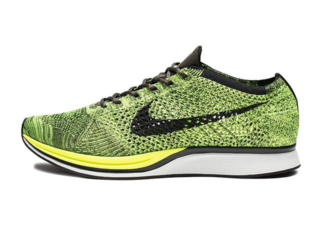 ... Nike Flyknit Racer Sequoia Volt ... 415d74d2f