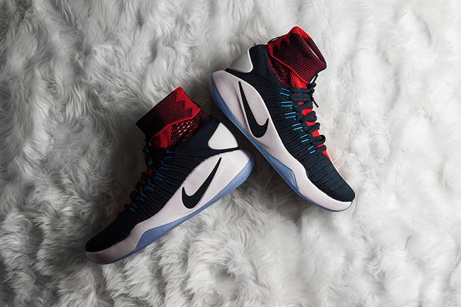 Nike Hyperdunk 2016 Flyknit USA Away