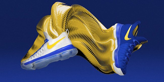 low priced d7907 5d507 You Can Now Create Your Own Nike KD 9 Golden State Warriors high-quality