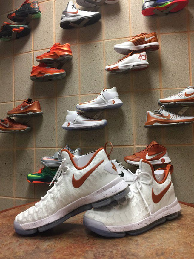 Nike KD 9 Texas Longhorns Home