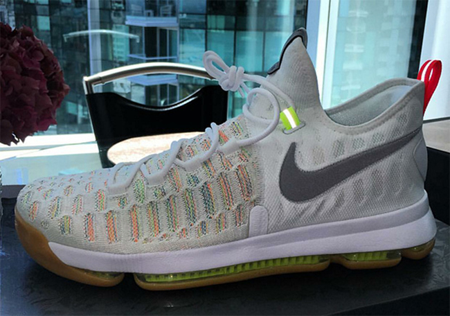 a7f191ac8359 50%OFF New Images of the Nike KD 9 White Multicolor - s132716079 ...