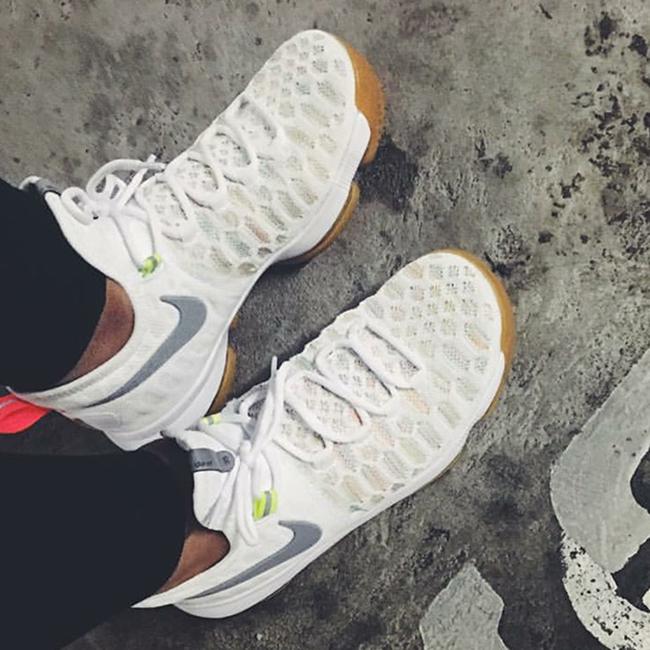 Nike KD 9 White Multicolor Gum