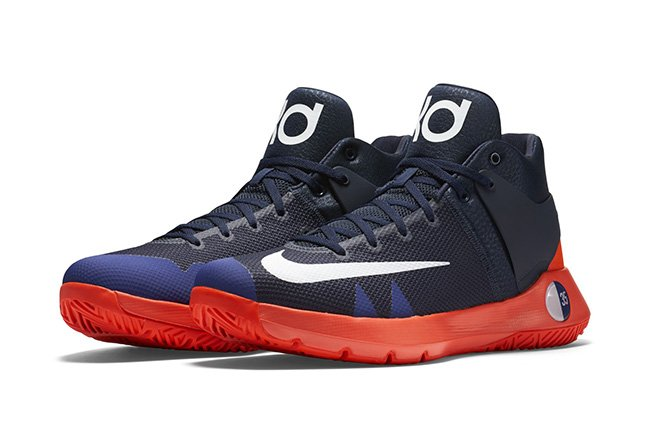 best website 23c7a 2b83d Nike KD Trey 5 IV Blue Red
