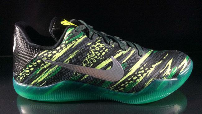 Nike Kobe 11 GS Green Snake