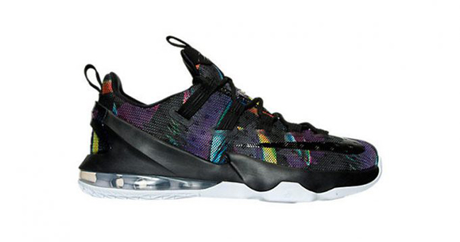 Nike LeBron 13 Low Black/Cosmic Purple-WhiteShoes_a0859