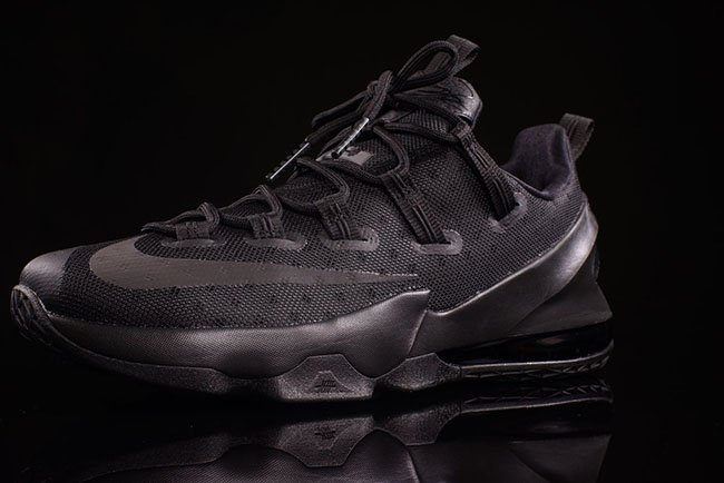 Nike LeBron 13 Low Triple Black Reflective