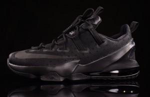Nike LeBron 13 Low Triple Black Reflective
