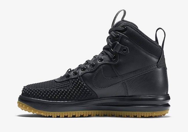 Nike Lunar Force 1 Duckboot Black Gum 2016