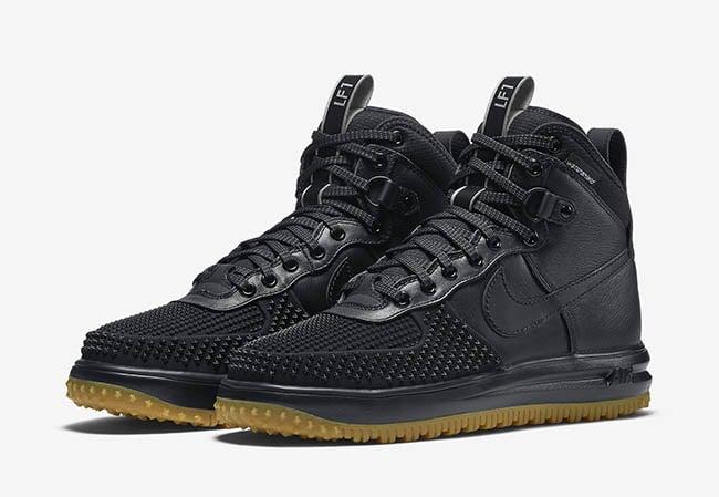 new style 7921d 44f4b Nike Lunar Force 1 Duckboot Black Gum 2016