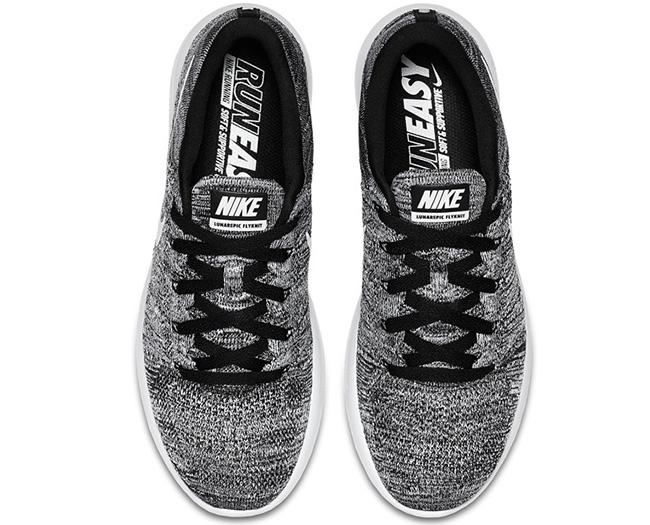 Nike LunarEpic Flyknit Low Oreo Black White