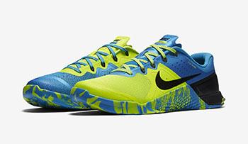 Nike Metcon 2 AMP Blue Glow Volt
