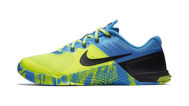 Nike Metcon 2 Blue Glow Volt Black