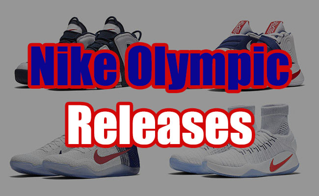 online store 3f198 b8123 Nike Olympic USA 2016 Release Dates