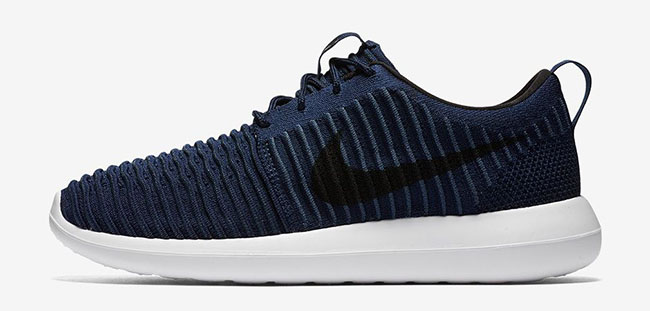 Nike Roshe Two Flyknit College Navy
