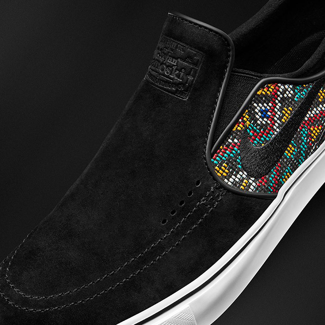 Nike SB Zoom Stefan Janoski Canvas Slip-On Seat Cover