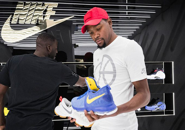 Nike SNKRS Kevin Durant Golden Air