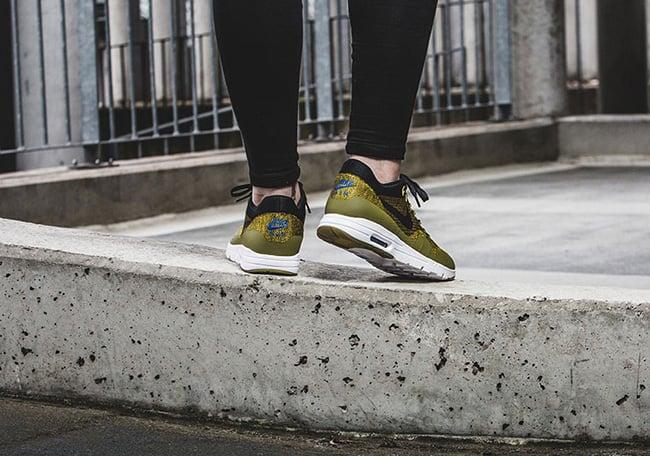 Nike WMNS Air Max 1 Ultra Flyknit Olive Flak