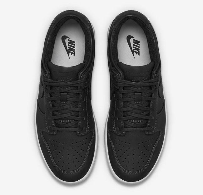NikeLab Dunk Low Lux Black White