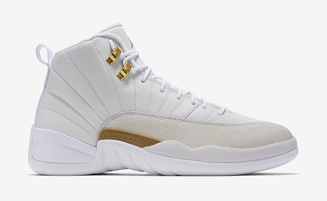 OVO Air Jordan 12 White Drake