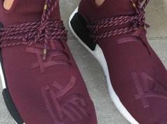 Pharrell adidas NMD Burgundy Friends Family