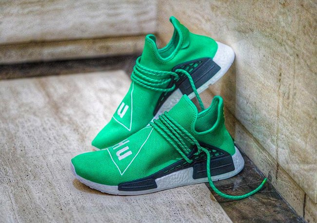 be748a80588d Pharrell x adidas NMD Human Race Green