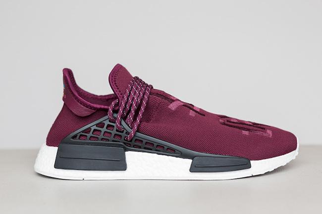 Adidas Human Race Nmd Burgundy