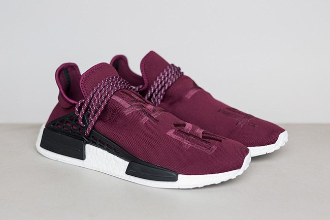 100% authentic ca3da 198f4 Pharrell adidas NMD Burgundy Friends Family | SneakerFiles