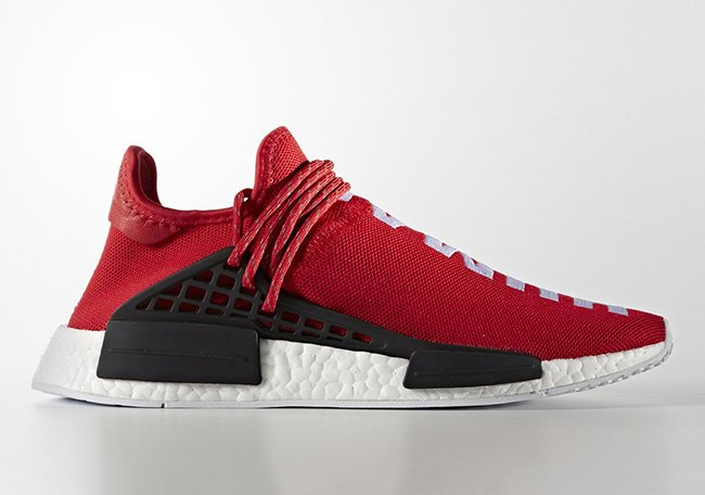 Pharrell x adidas NMD Human Race Red