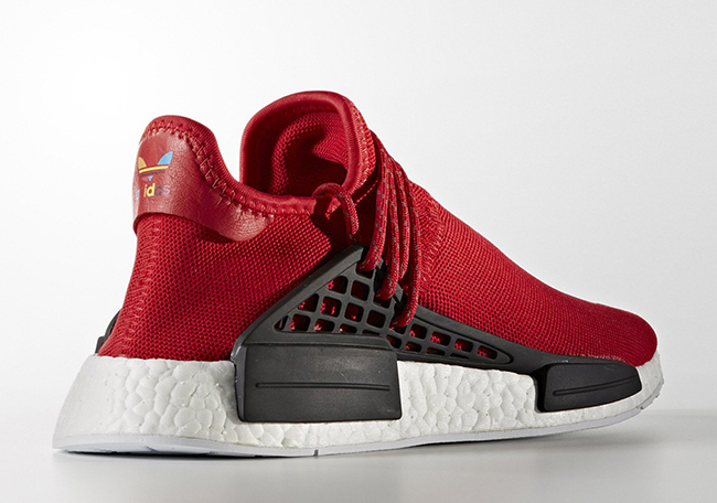 outlet store dadb7 6da9c Pharrell x adidas NMD Human Race Red | SneakerFiles